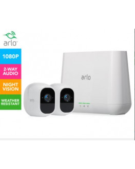 ★ Arlo Pro 2 VMS4230P Wire-Free HD Security System w/ 2 Cameras