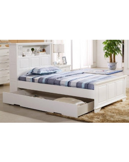 ★ Liszt King Single Bed with Trundle