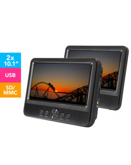 ★ LENOXX 10.1-Inch Twin Portable DVD Player