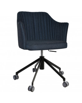 ★ Coogee Commercial Grade Gravity Fabric Gas Lift Office Armchair