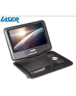 "★ Laser Portable DVD/CD Player w/ 9"" LCD Screen"