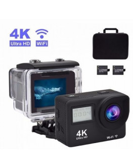 ★ Touch screen underwater 7layers Glasses lens 170 degree 4k 30fps action camera for outdoor sports